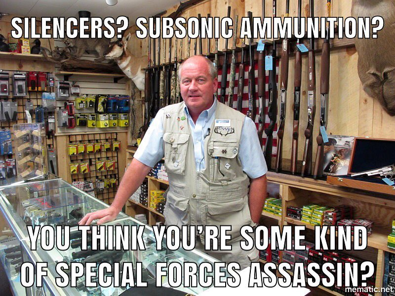 Subsonic Ammo for Hunting and Self-Defense