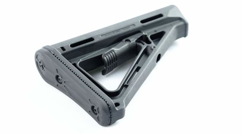 A real Magpul from a reputable online retailer....Magpul MOE Stock Mil-Spec (Black) - MSRP - $39.95