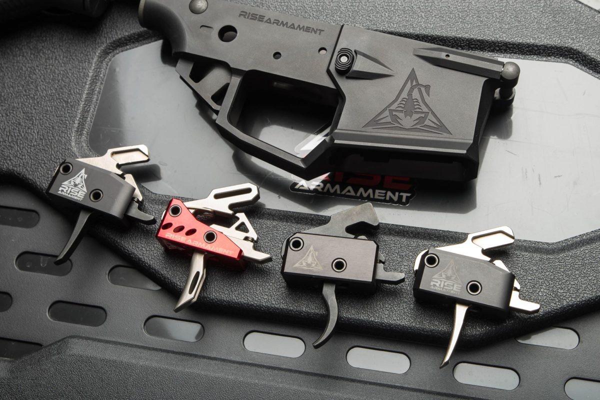 Photo of Rise Armament RA-140, RA-434, LE145 and RA-535