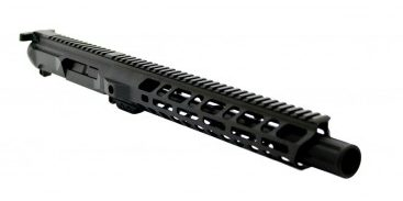"""PSA PA-9 GEN3 10.5"""" 9MM 1/10 NITRIDE 12"""" SLANTED M-LOK RAILED UPPER WITH FLUTED FLASH CAN"""