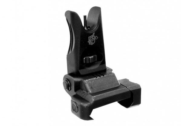 the knights armament folding micro front and rear sights are some of the best back up iron sights for your AR.