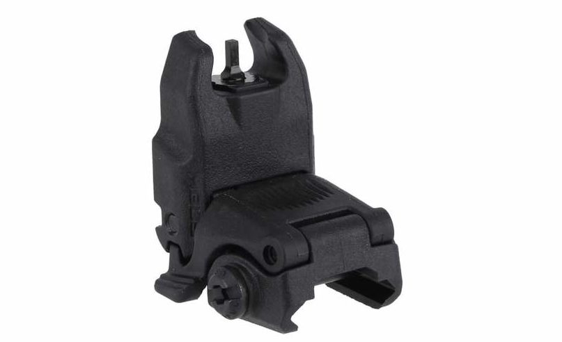 Magpul MBUS Front Flip-Up Sight Gen 2 (Black) is a good backup irom sight.
