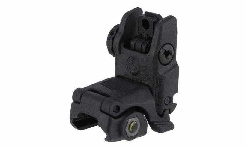 Magpul MBUS Rear Flip-Up Sight Gen 2 (Black) Best Back Up Iron Sights