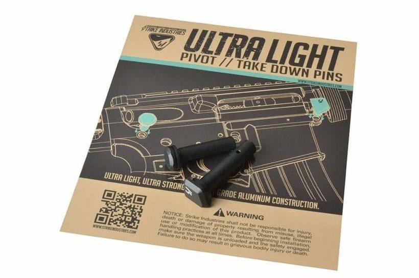 Strike Industries Ultra Light Pivot / Takedown Pins - MSRP - $15.95