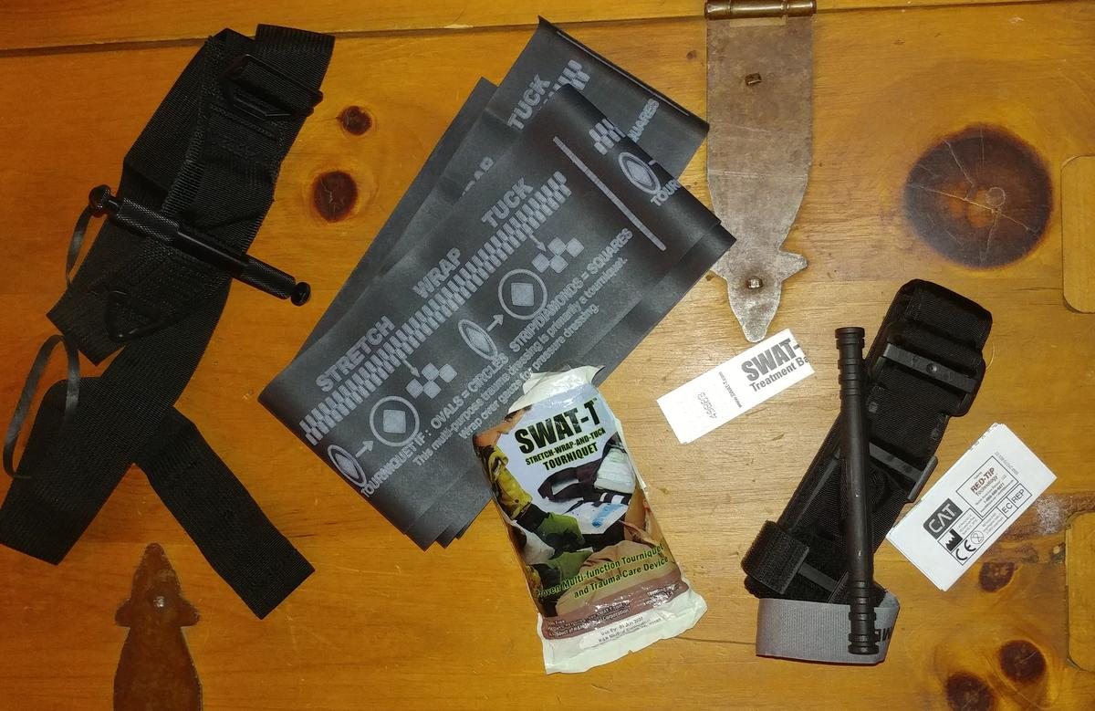 Medical Kit (Blow Out Kit, IFAK) for The Range
