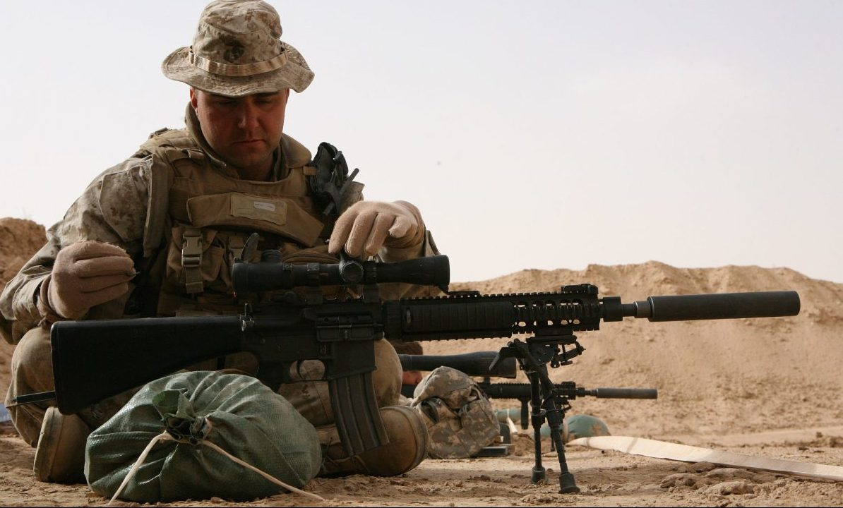 this MK12 is an ideal example for AR-15 Precision Long Range Shooting