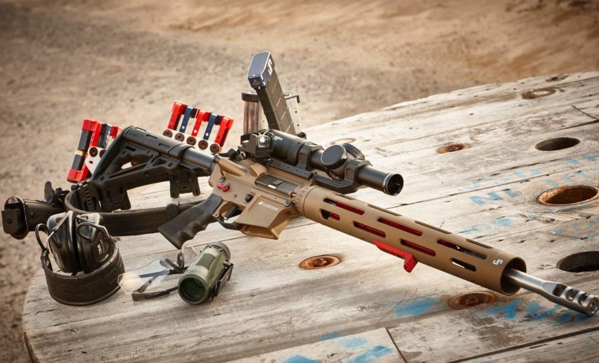 JP rifle set up for 3-gun. John Paul talks to ARBuildJunkies about the best AR-15 Upgrades