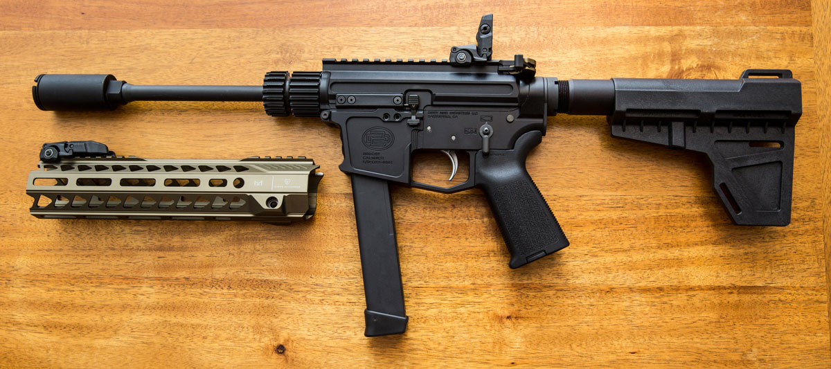 9mm AR Carbine Build (Glock magazine compatible) - AR Build