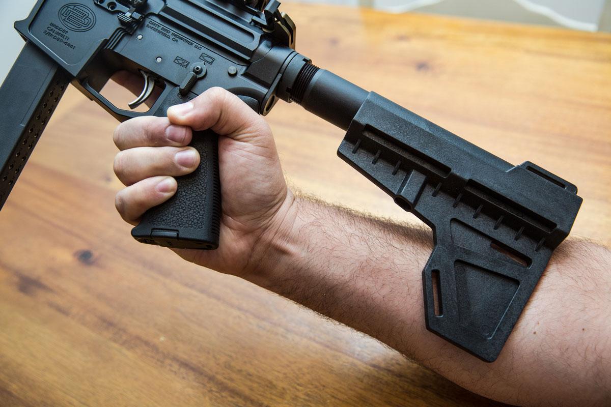 9mm AR Carbine KAK Brace