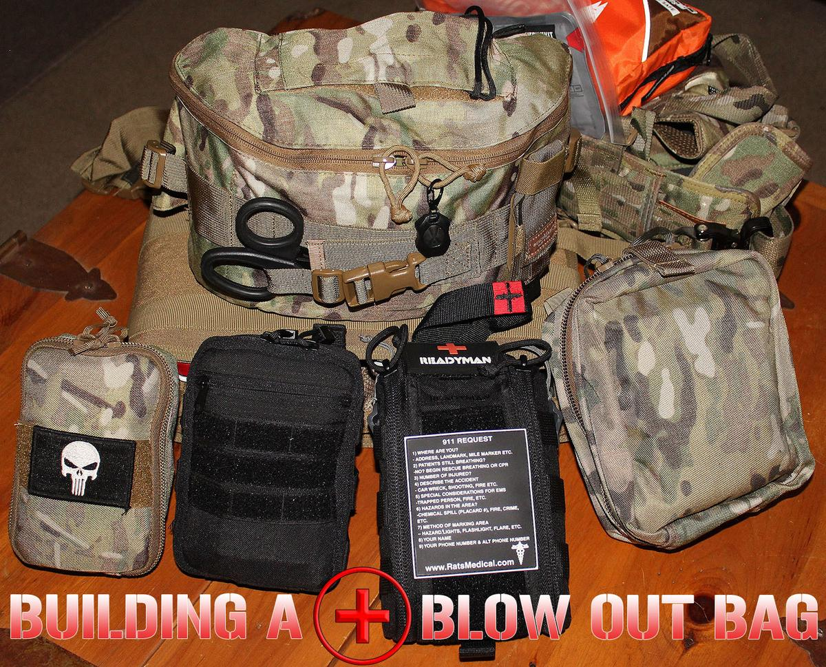 Medical Kit (Blow Out Kit, IFAK) for The Range