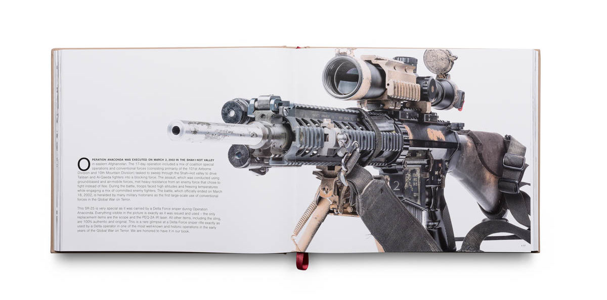 Sample page featuring an SR-25 from Vickers Guide: AR-15 Volume 2