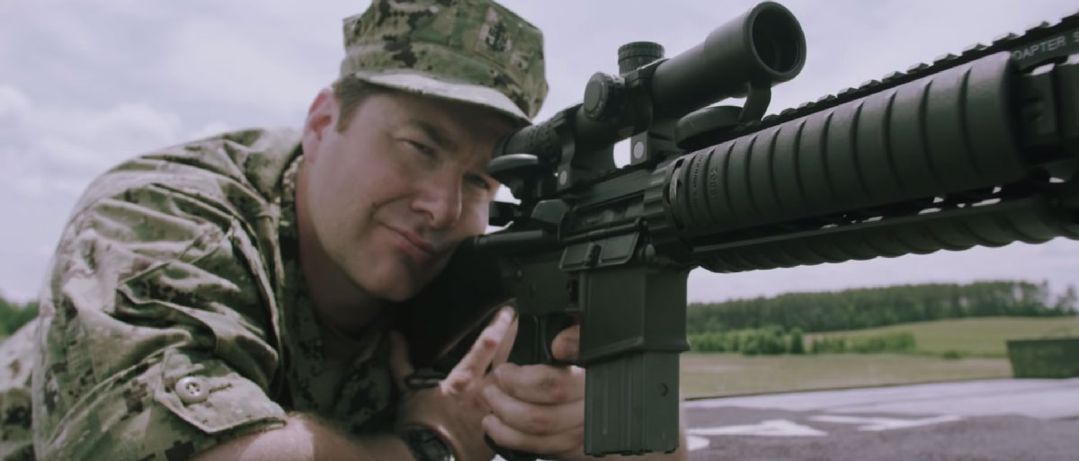 MK12 SPR – Special Purpose Rifle with Navy SEAL Monty Leclair