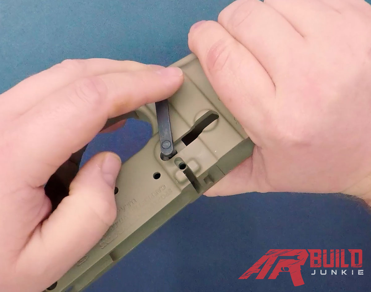 How to Assemble an AR-15 Lower Reciever