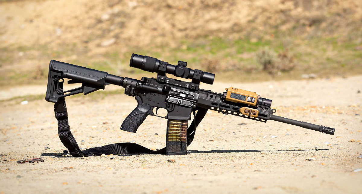 Caracal CAR816 A2 - An Improved H&K 416? - AR Build Junkie