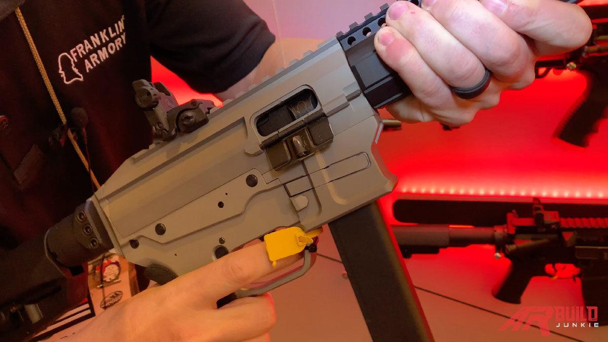 Franklin Armory Digital Action Rifle - SHOT Show 2019 - AR