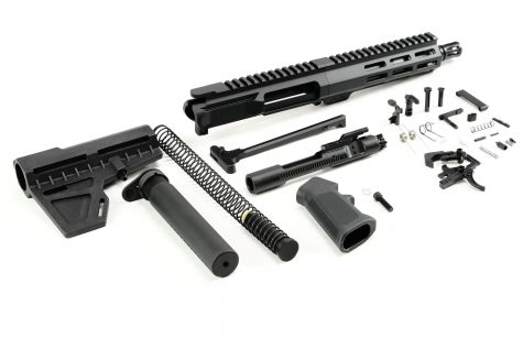 7.5″ 300 BLK Nitride M-LOK Pistol Kit w/ Shockwave Blade