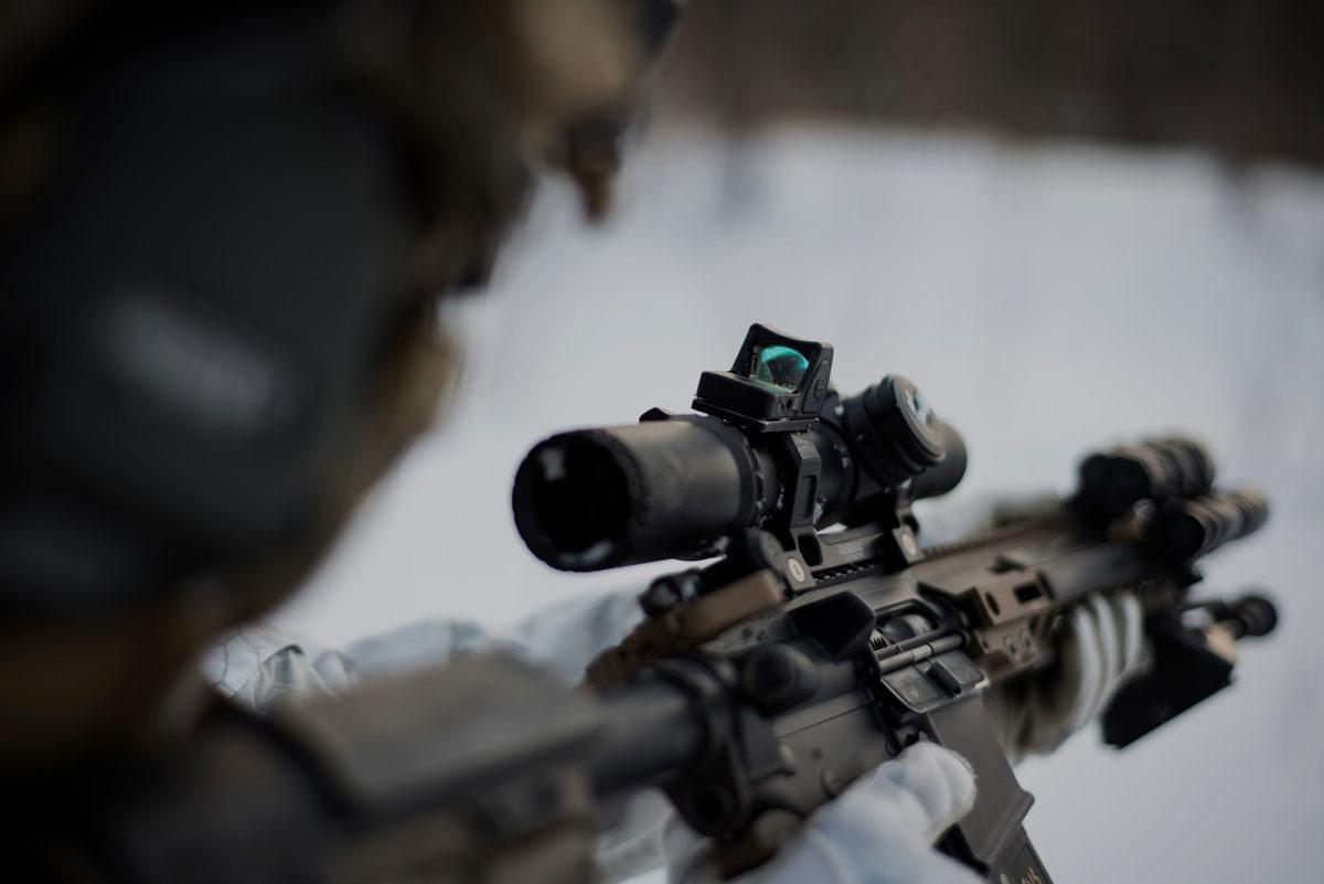 special purpose rifle ridgeline