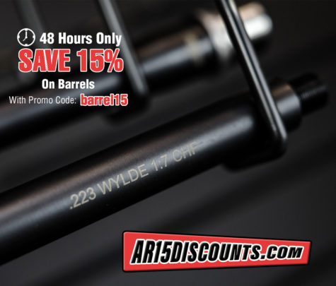 15% Off Flash Sale on Barrels