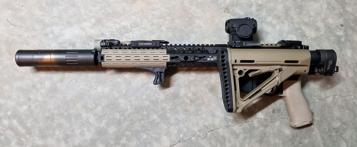 Law Tactical - The Story of the AR Folding Stock Adapter - AR Build