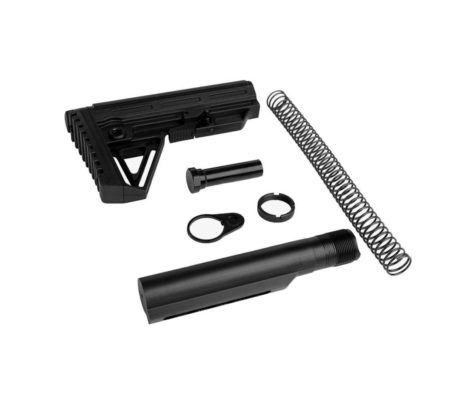 Trinity Force Alpha Mil Spec Stock & Buffer Kit – Black