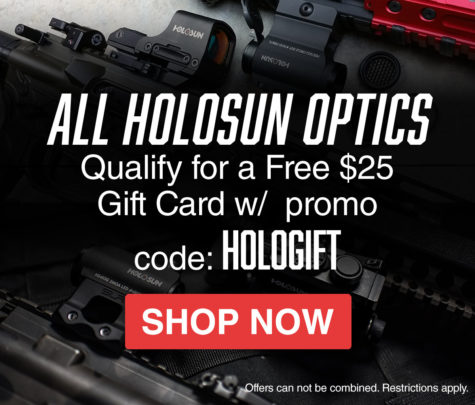 Holosun Optics + Gift Card