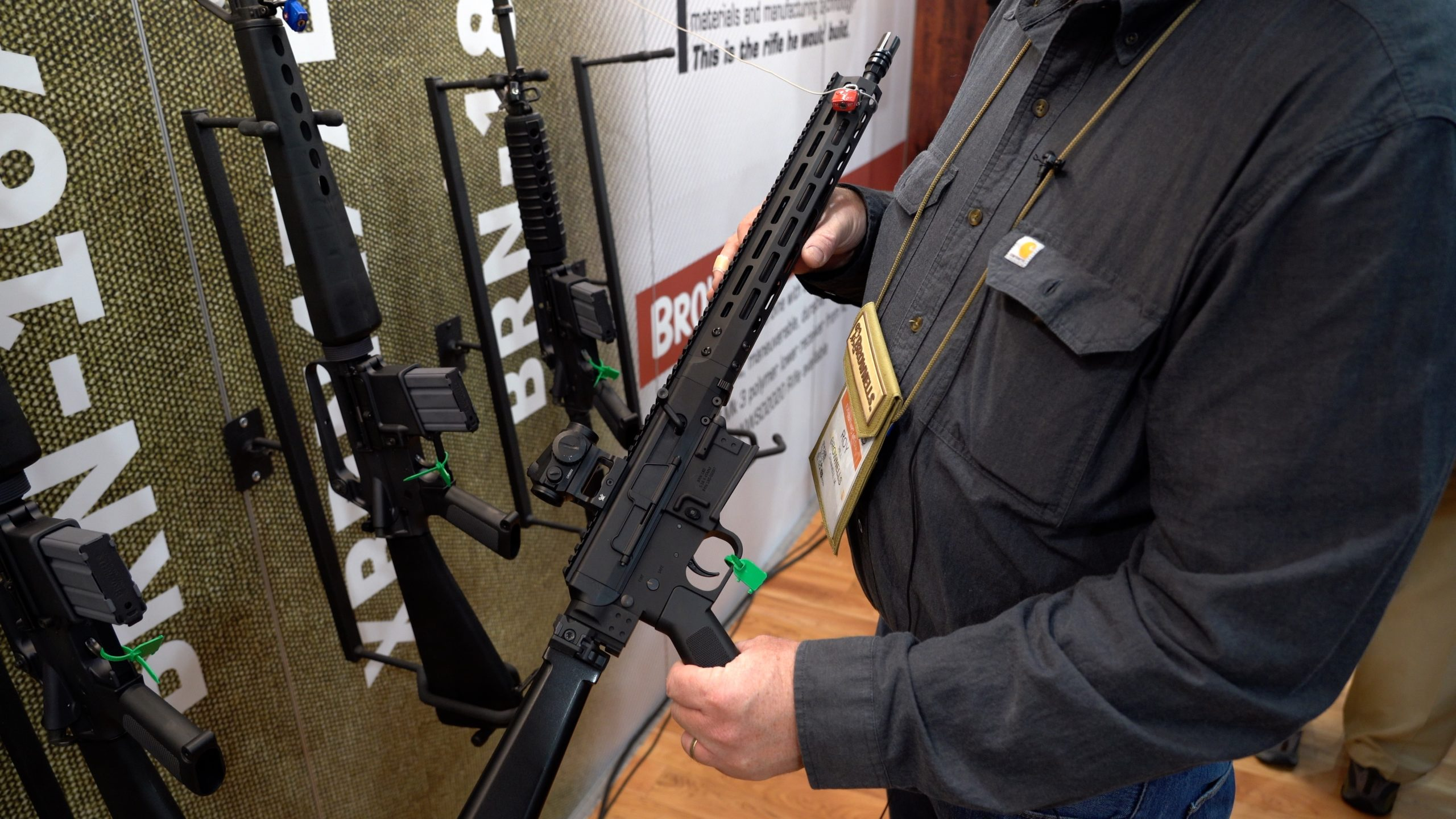 SHOT Show 2020 - Brownells Retro Rifles and the BRN-180
