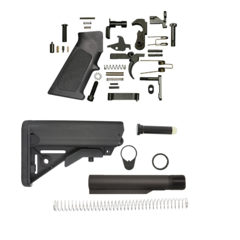 SOPMOD AR-15 Lower Build Kit