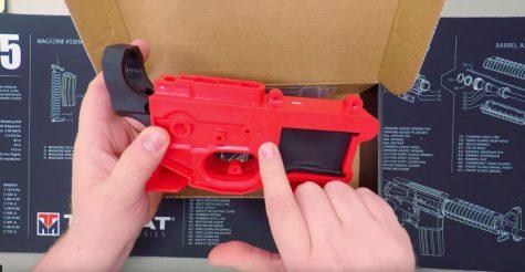 Finishing a Polymer80 AR-15 Lower Receiver